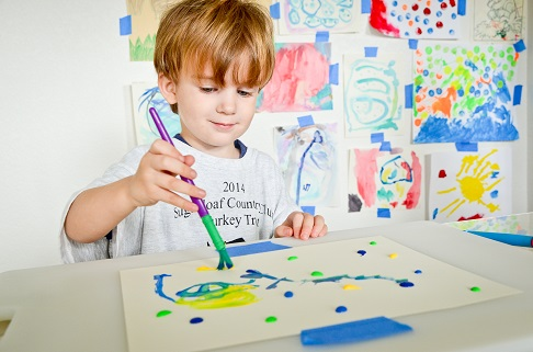 painting with toddlers 4